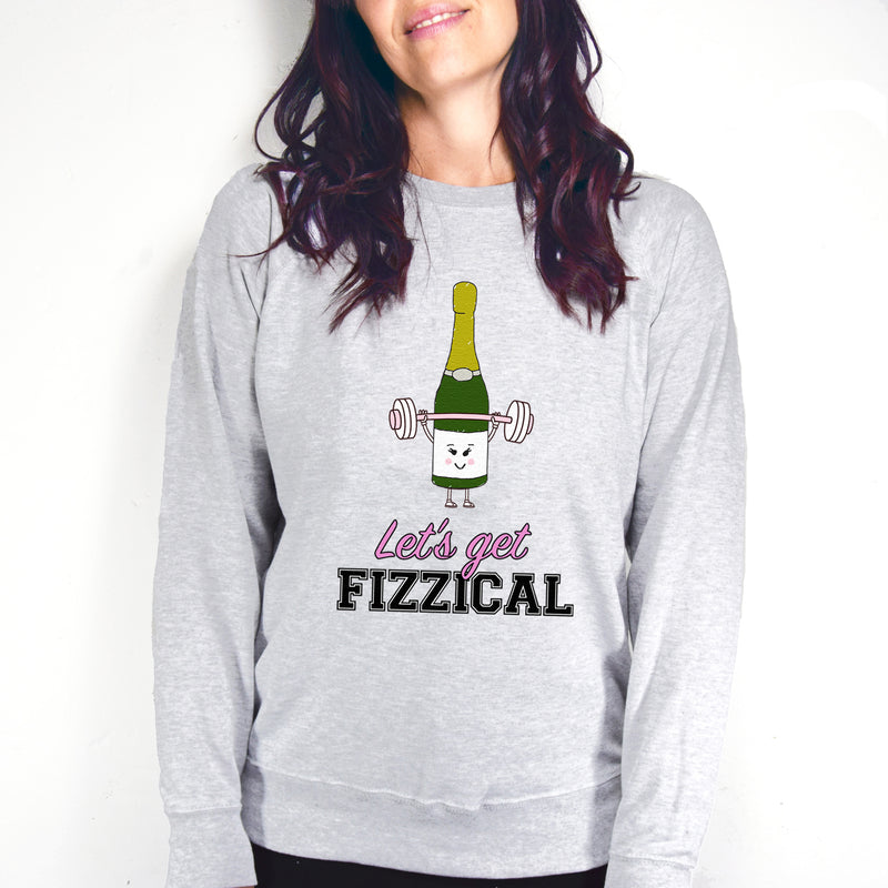 'Let's Get Fizzical' Prosecco Women's Sweater-Tote Bag-Of Life & Lemons®