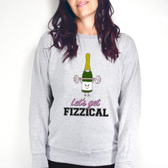 'Let's Get Fizzical' Prosecco Women's Sweater