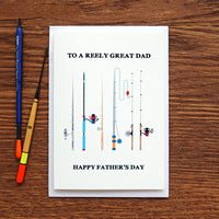 Funny Fishing Father's Day Card-Of Life & Lemons®