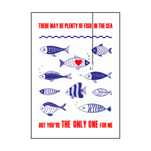 Funny Fishing Valentine's Card