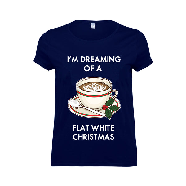Flat White Christmas T-Shirt