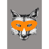 Superhero Fox Animal Print