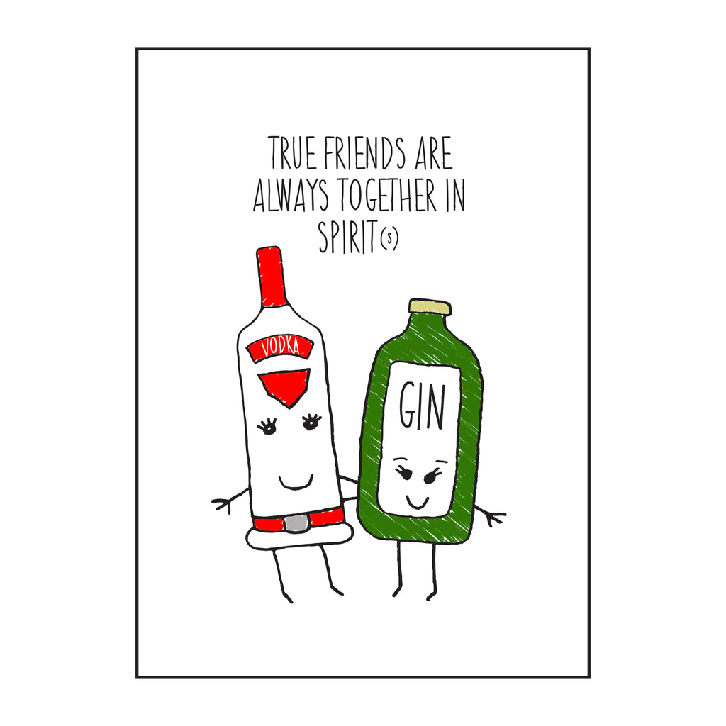 'Together in Spirits' Friendship Card-Of Life & Lemons®