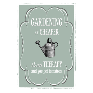 Gardening Quote Print-A4 Print-Of Life & Lemons®