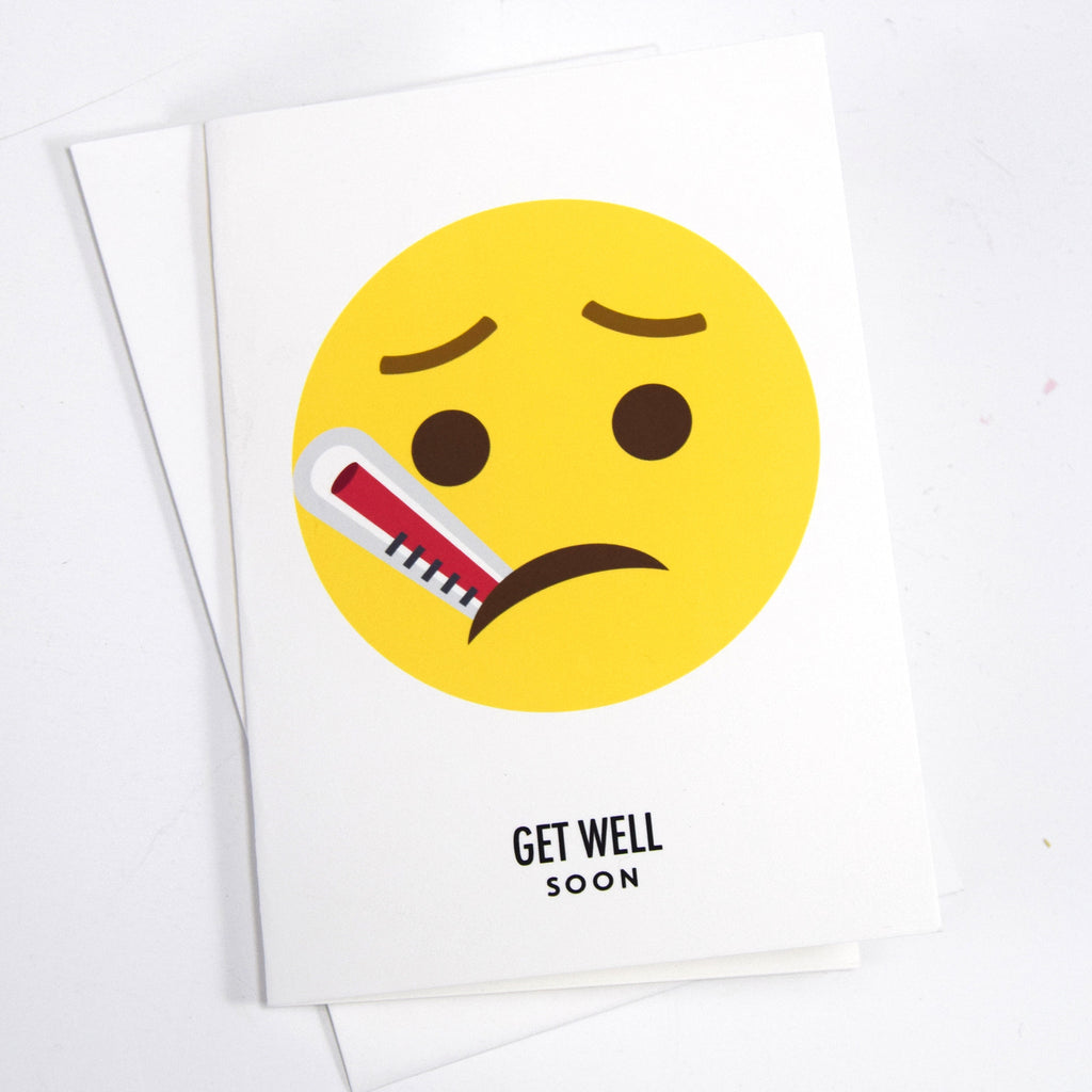 Emoji Get Well Soon Card Of Life Lemons