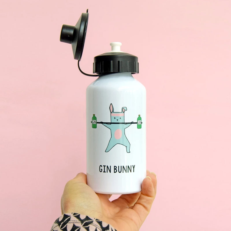 'Gin Bunny' Water Bottle-Of Life & Lemons®