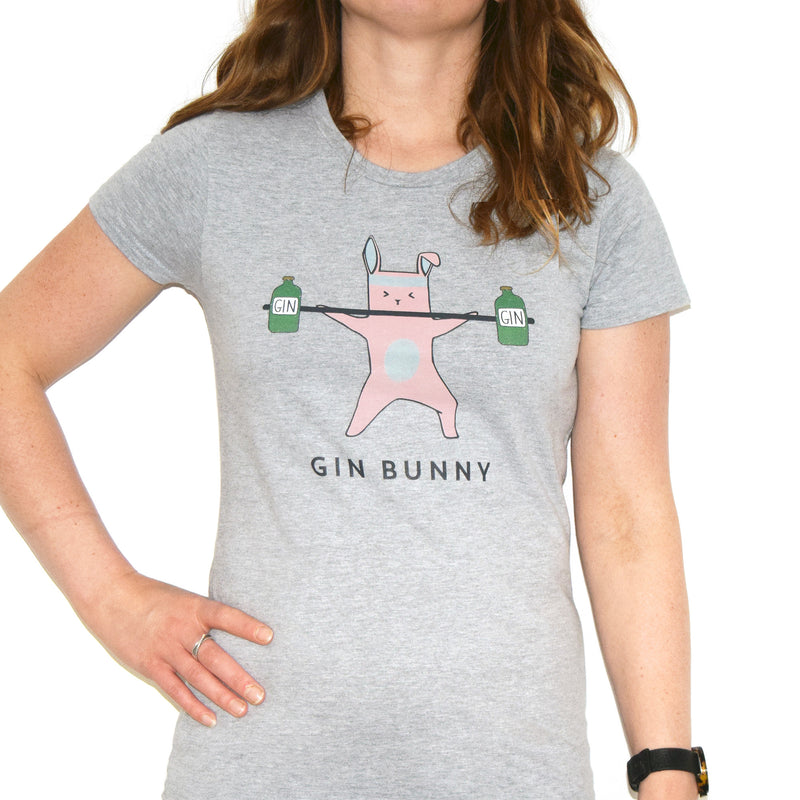 'Gin Bunny' Women's T-Shirt-Tote Bag-Of Life & Lemons®