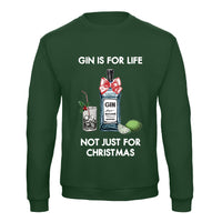 'Gin Is For Life' Christmas Jumper-Tote Bag-Of Life & Lemons®