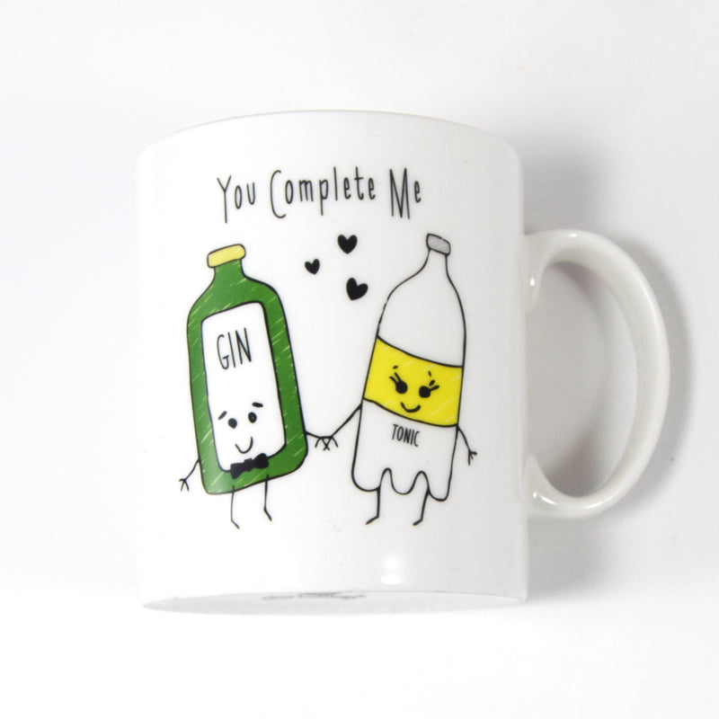 'You Complete Me' Gin Mug-Of Life & Lemons®