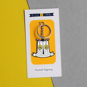 'Gincredible Mum' Keyring-Of Life & Lemons®