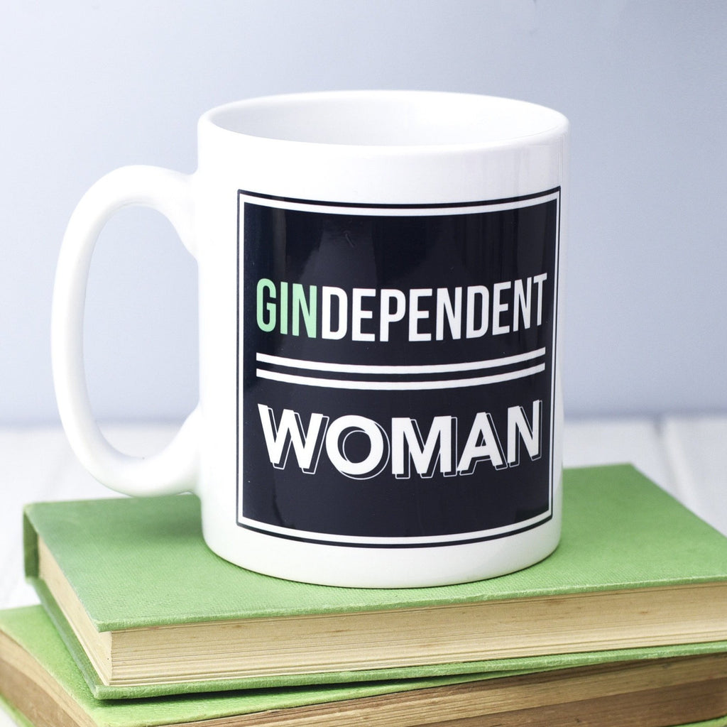 'Gindependent Woman' Gin Mug-Of Life & Lemons®