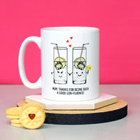 'GINfluence' Mug Gift for Mum-Of Life & Lemons®