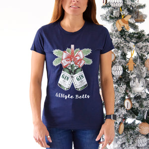 'GINgle Bells' Christmas T-Shirt-Tote Bag-Of Life & Lemons®