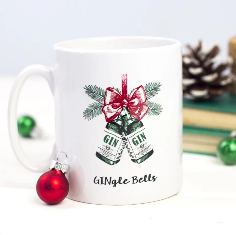 'GINgle Bells' Christmas Mug-Of Life & Lemons®