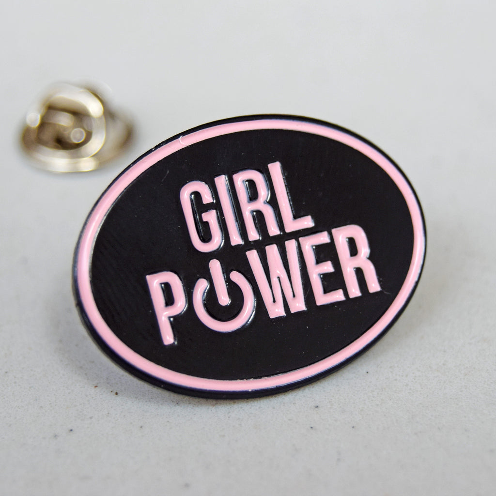 'Girl Power' Enamel Pin Badge-Of Life & Lemons®