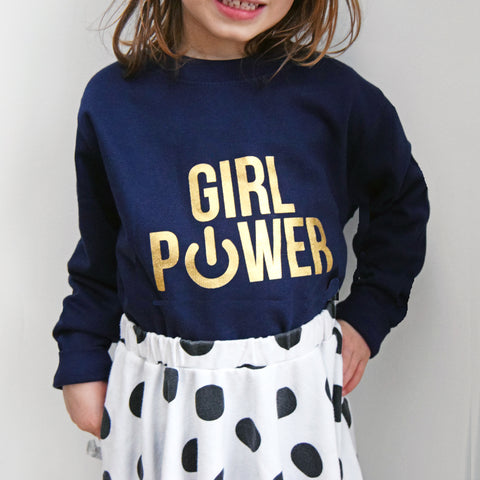 'Girl Power' Kids Sweatshirt