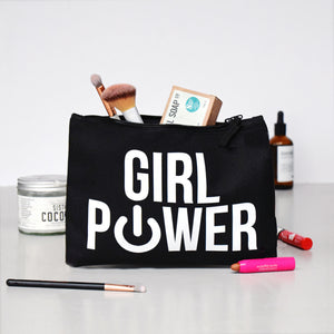 'Girl Power' Wash Bag-Tote Bag-Of Life & Lemons®