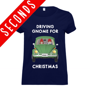'Driving Gnome for Christmas' T-Shirt - SLIGHT SECOND-Tote Bag-Of Life & Lemons®