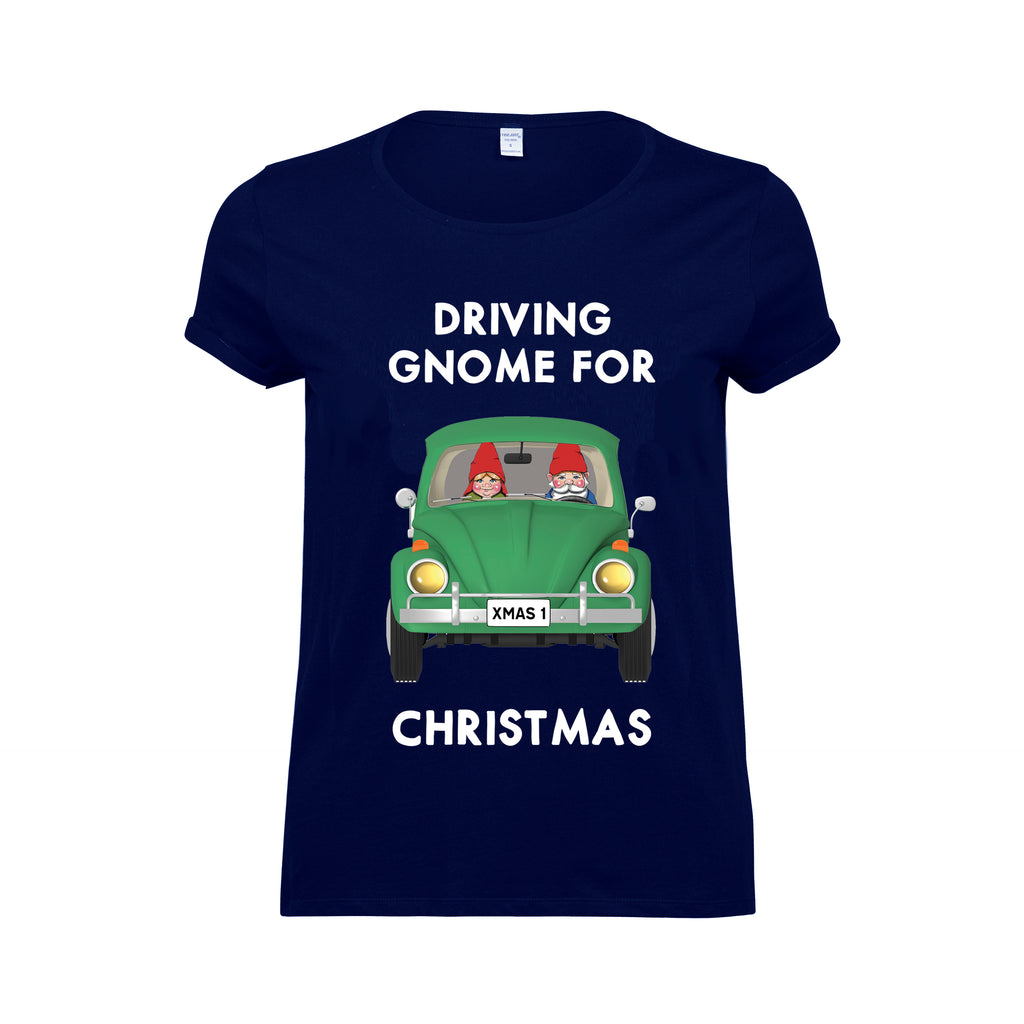 'Driving Gnome For Christmas' T-Shirt-Tote Bag-Of Life & Lemons®