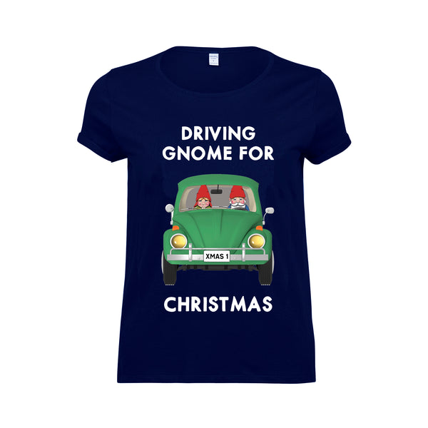 'Driving Gnome For Christmas' T-Shirt
