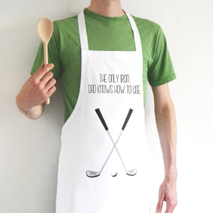 Funny Golf Apron For Dad-Aprons-Of Life & Lemons®
