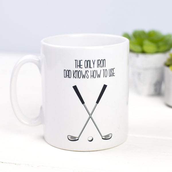 Funny Golf Father's Day Mug