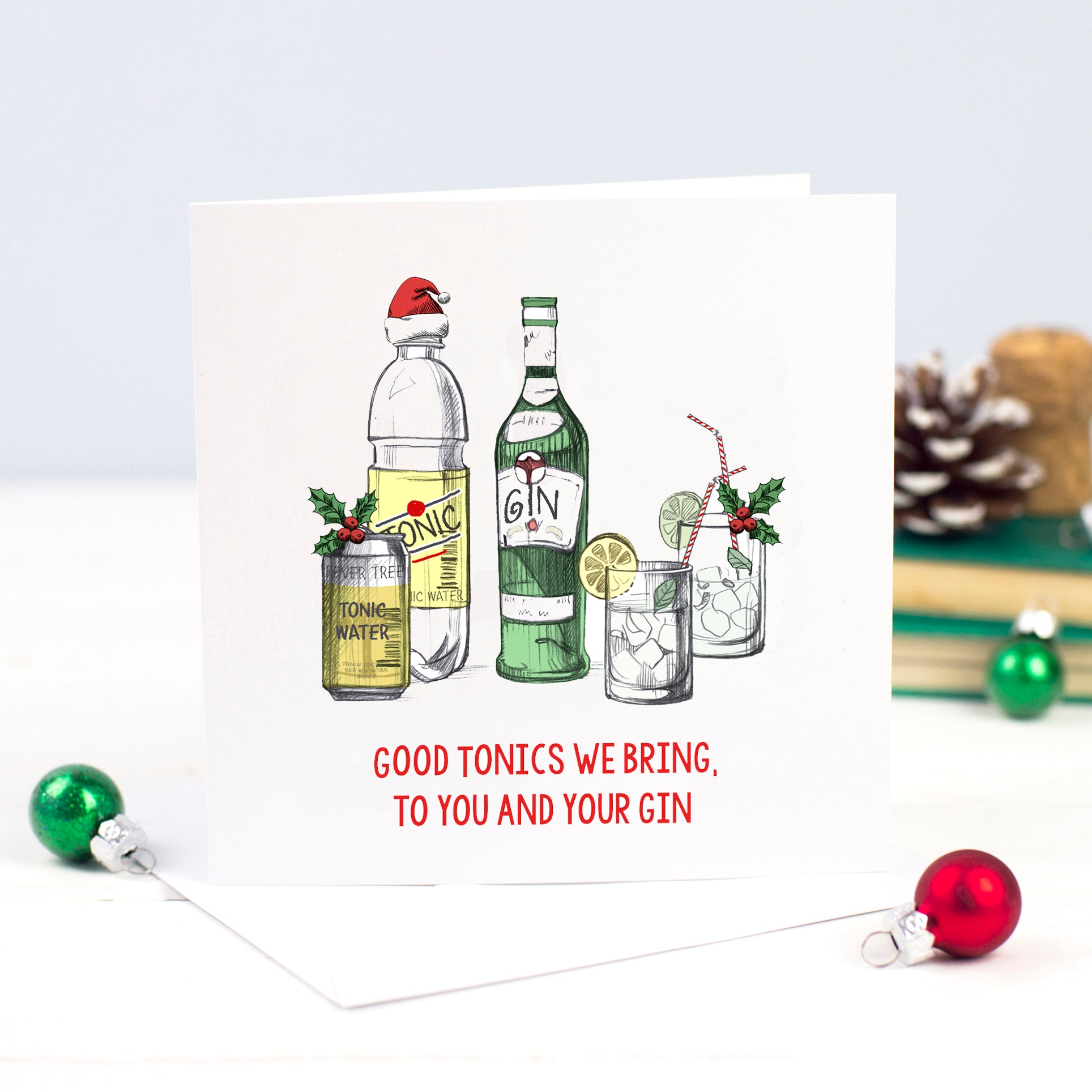 Good Tonics Christmas Card