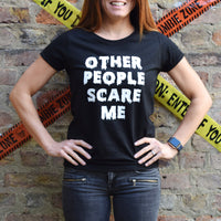 'Other People Scare Me' Halloween T-Shirt-Tote Bag-Of Life & Lemons®