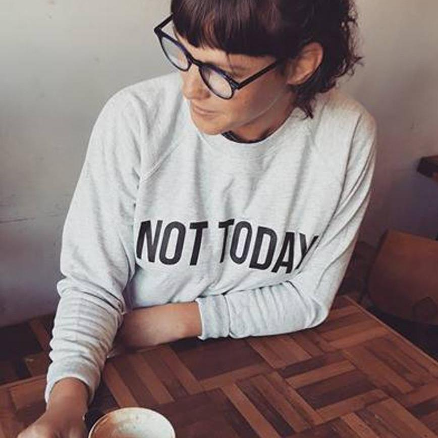 'Not Today' Women's Sweater-Tote Bag-Of Life & Lemons®