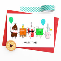 Childrens Party Invitations-Of Life & Lemons®