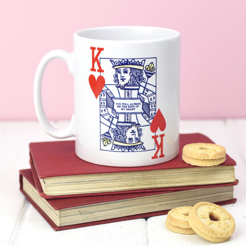 'King of Hearts' Valentine's Mug