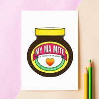 'Best Mum in the World' Mother's Day Card