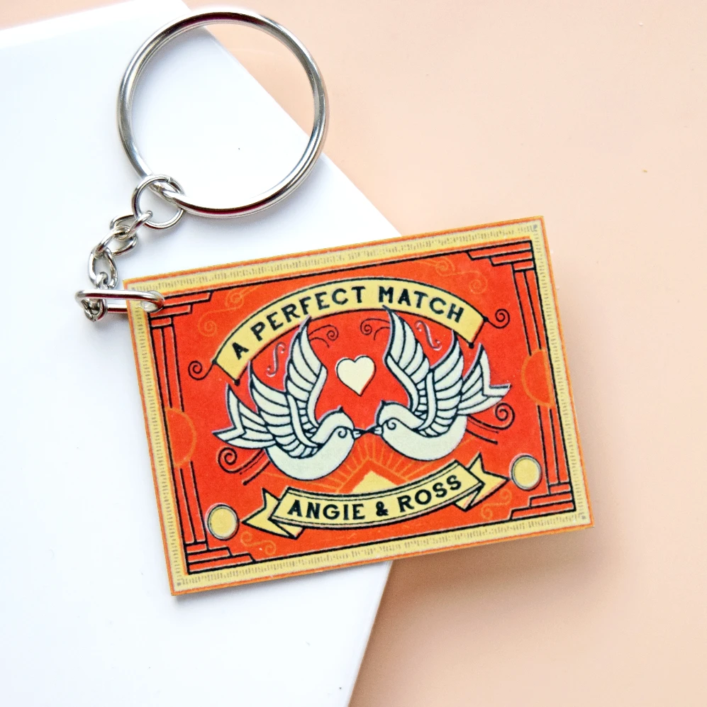 Personalised Matchbox Keyring-Of Life & Lemons®