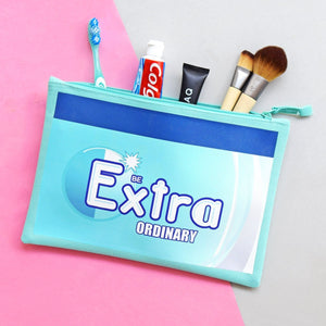'Be Extraordinary' Wash Bag-Tote Bag-Of Life & Lemons®