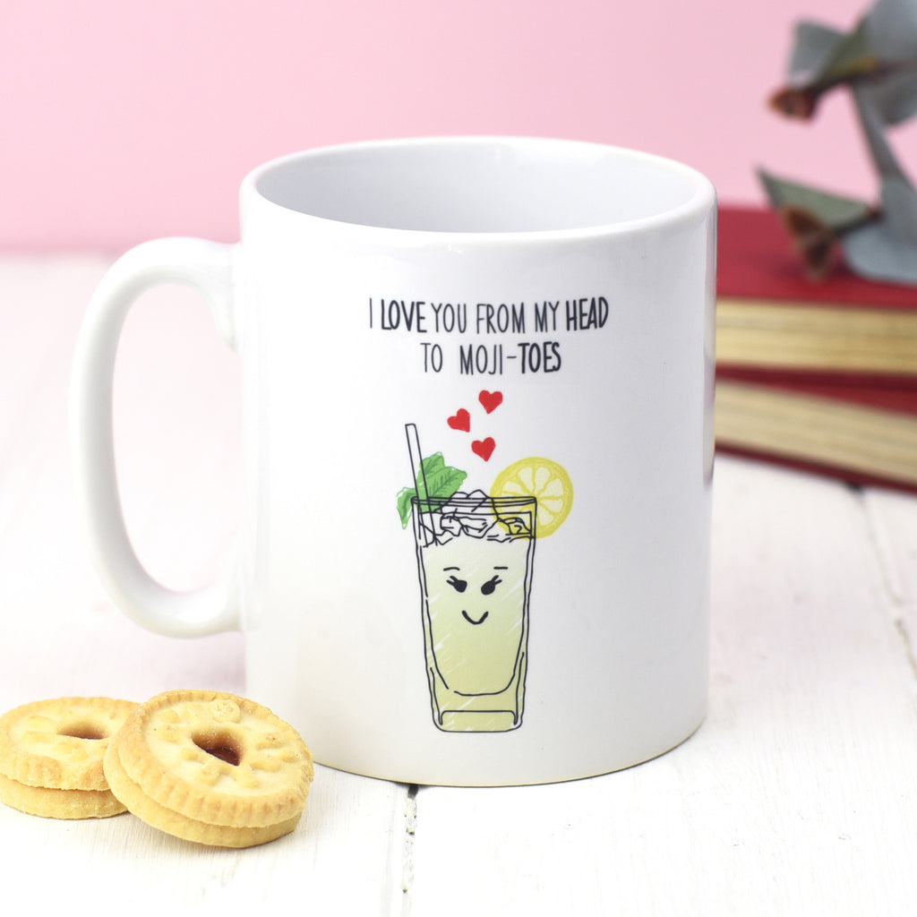 'I love you' Mojito Valentine's Mug-Of Life & Lemons®