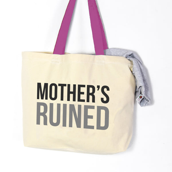 'Mother's Ruined' Gin Tote Bag-Tote Bag-Of Life & Lemons®
