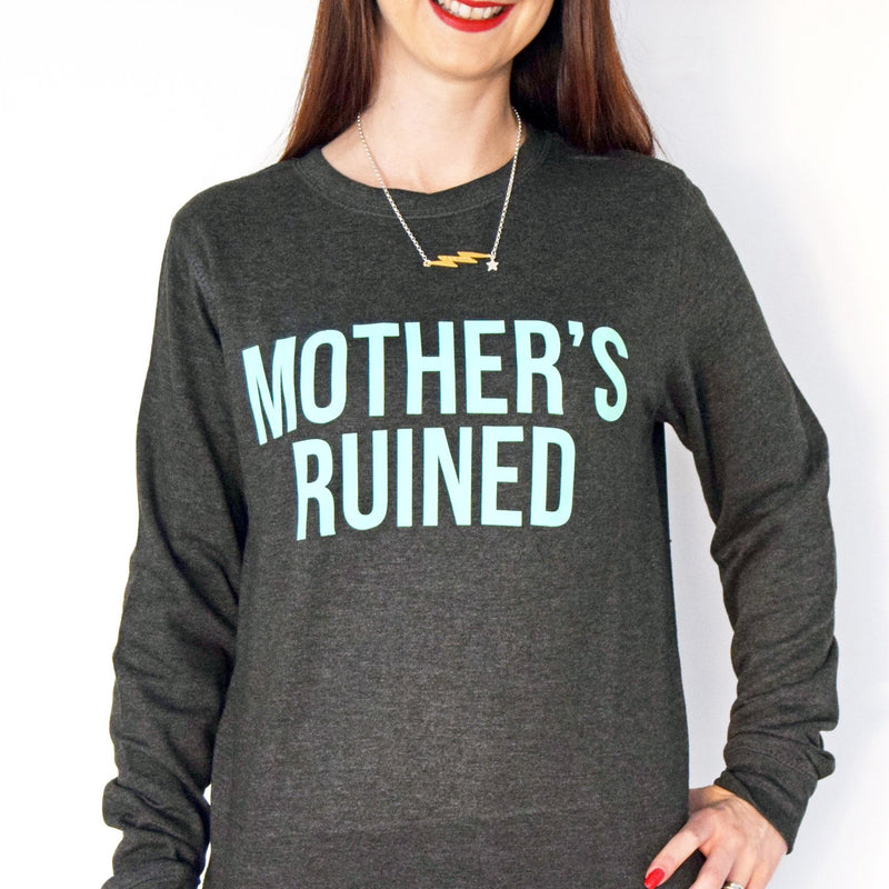 'Mother's Ruined' Women's Gin Sweatshirt-Tote Bag-Of Life & Lemons®