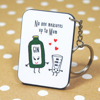 **DISCONTINUED** Gin Mother's Day Keyring-Of Life & Lemons®
