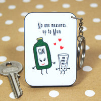 DISCONTINUED Gin Mother's Day Keyring-Of Life & Lemons®