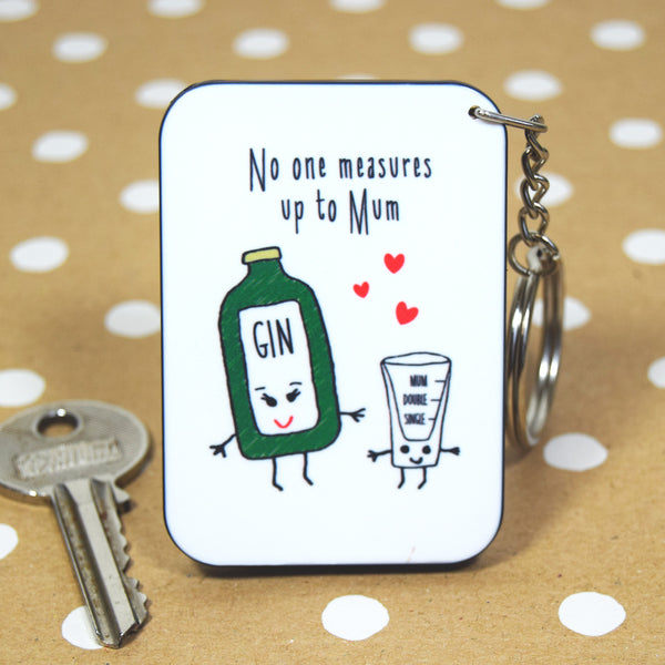 Gin Mother's Day Keyring