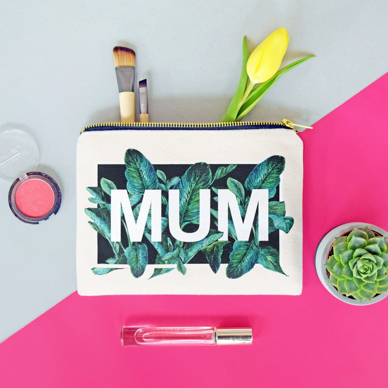 Tropical Leaf Make Up Bag Gift for Mum-Tote Bag-Of Life & Lemons®