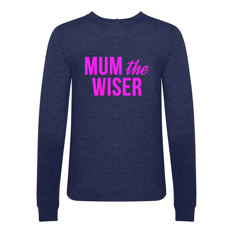 'Mum The Wiser' Sweatshirt-Tote Bag-Of Life & Lemons®
