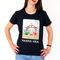 Funny Tea Christmas T-Shirt-Tote Bag-Of Life & Lemons®