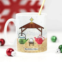 'Nativi-Tea' Funny Christmas Mug-Of Life & Lemons®