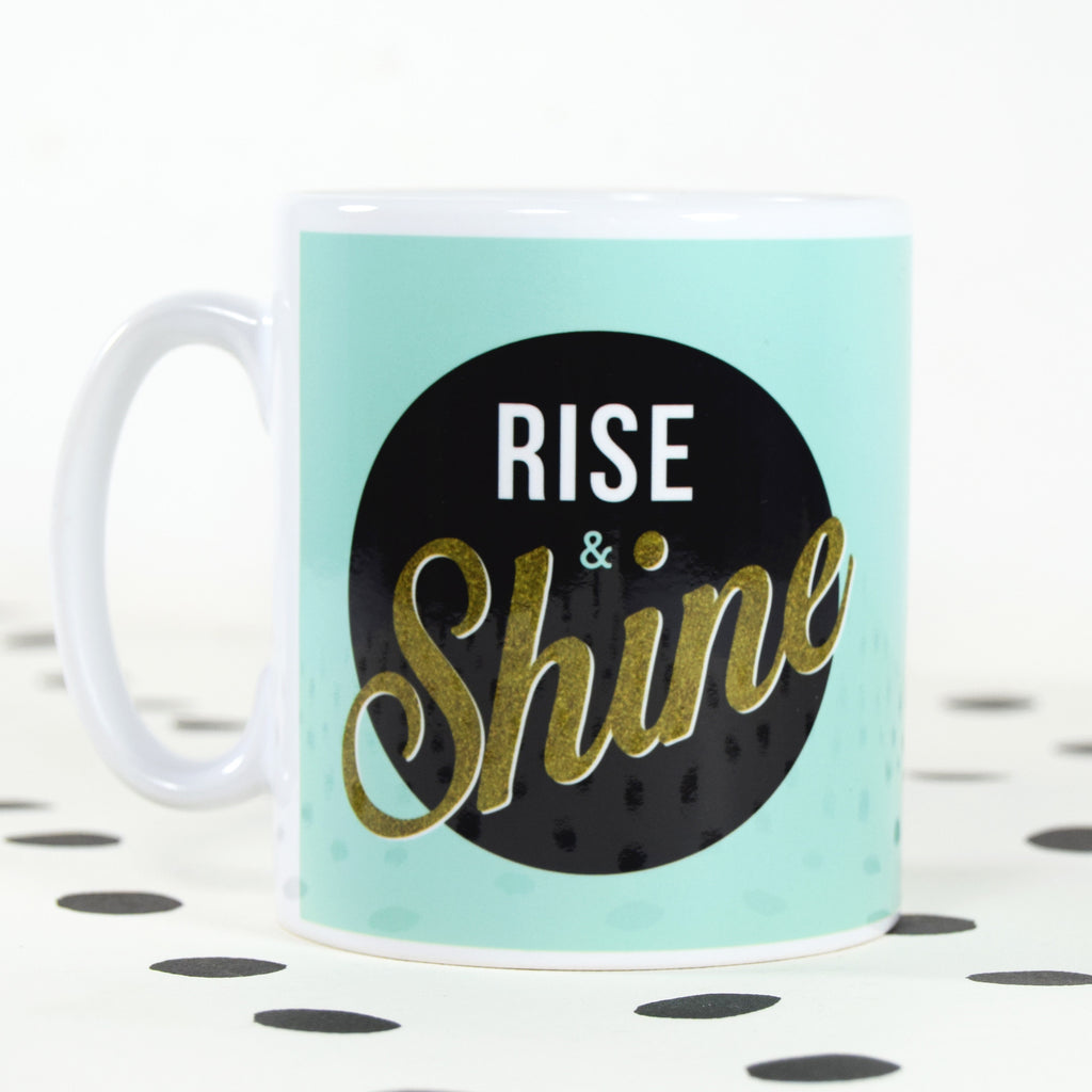 *DISCONTINUED* 'Rise & Shine' Mug-Of Life & Lemons®