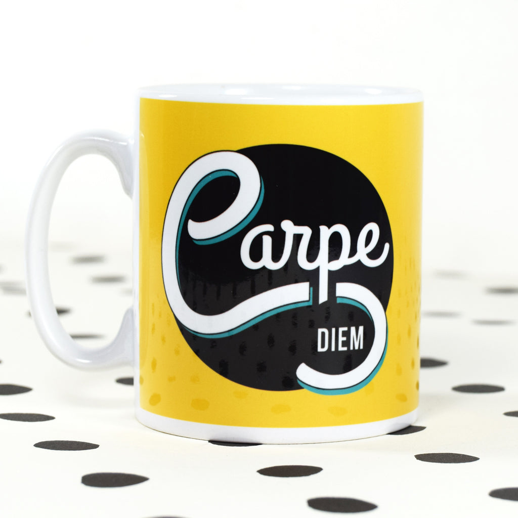 **DISCONTINUED** 'Carpe Diem' Mug-Of Life & Lemons®