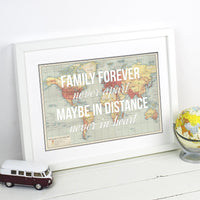 Personalised Family Print-A4 Print-Of Life & Lemons®