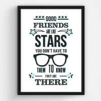 Personalised Friendship Quote Print-A4 Print-Of Life & Lemons®