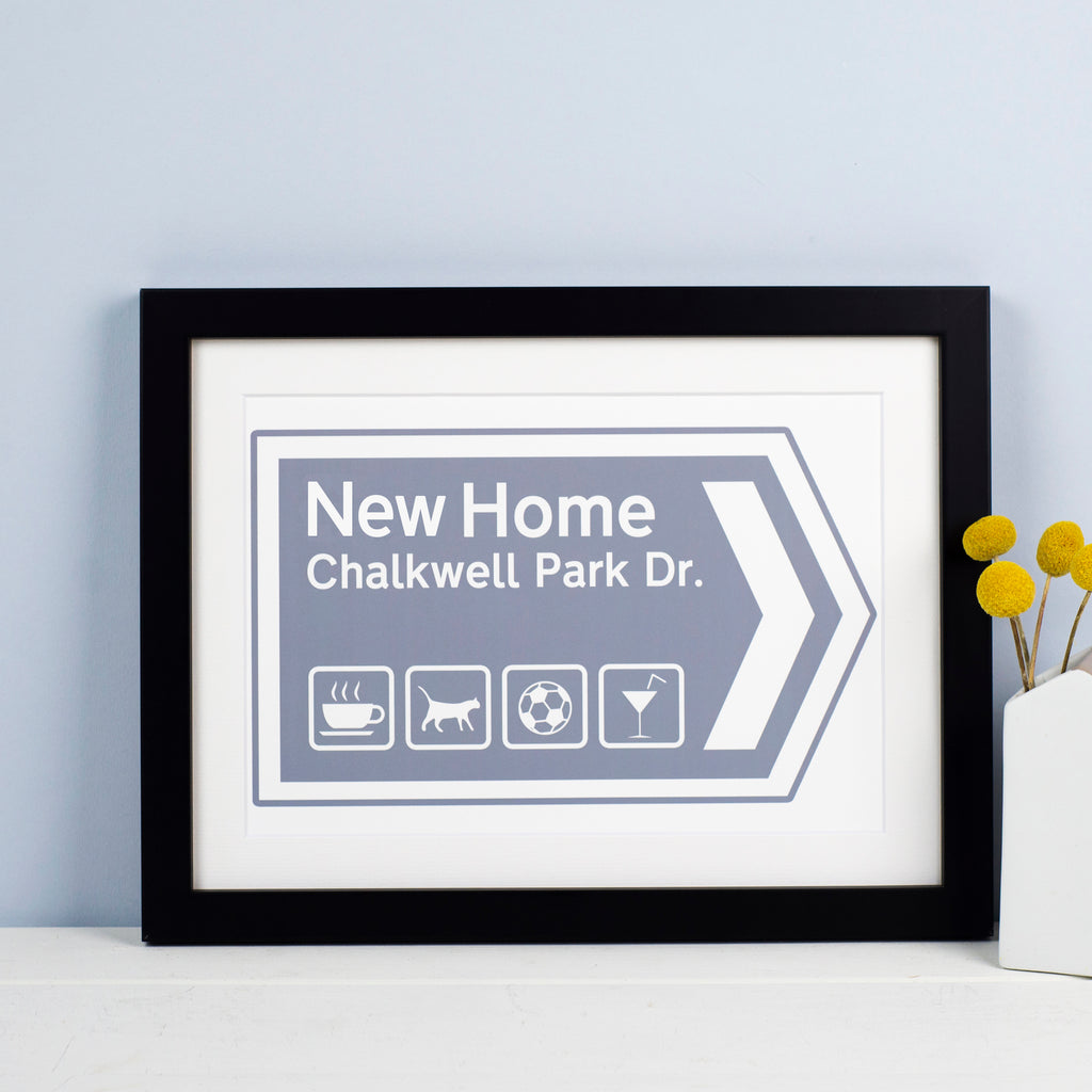Personalised New Home Print-Of Life & Lemons®
