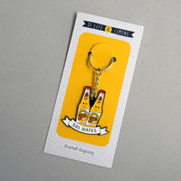 'Sol Mate' Beer Keyring for Partner-Of Life & Lemons®